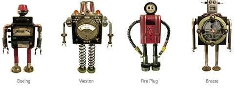 Bennett Robot Works Sculptural Robots
