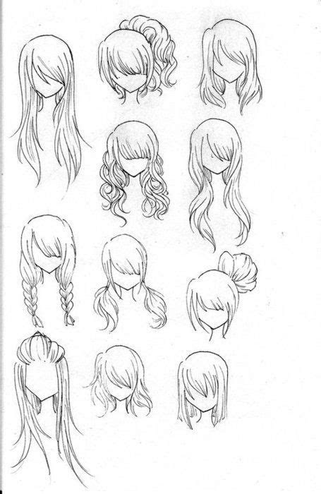 anime girl hairstyles longanime hair tumblr cvtjnzakjpg