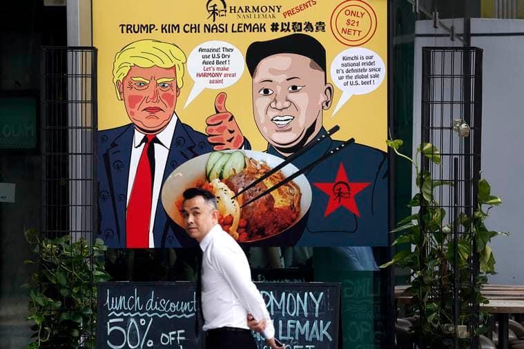 kim jung un, ντόναλντ ατού, singapore summit, βόρεια Κορέα, αθλήματα kim συνάντηση, singapore εστιατόρια, θέμα τρόφιμα, κοκτέιλ ατού, ινδική ρητή
