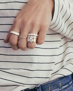 stackable rings, eternity band, emerald cut band, wedding