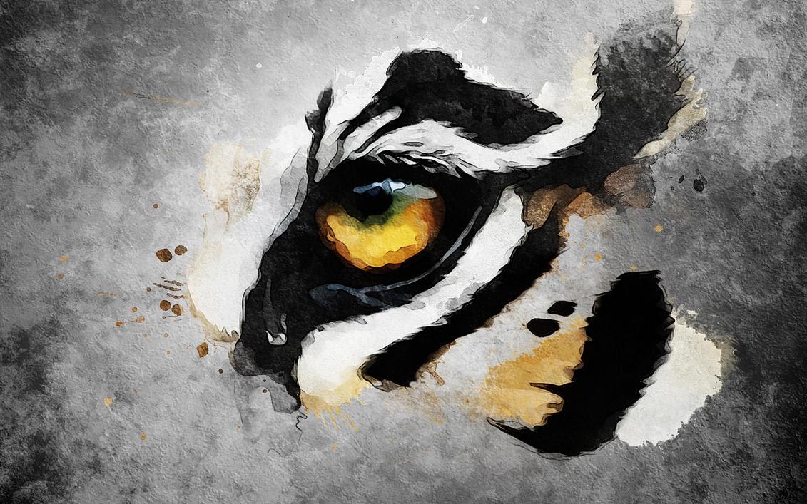 Lsu Eye Of The Tiger Tattoo