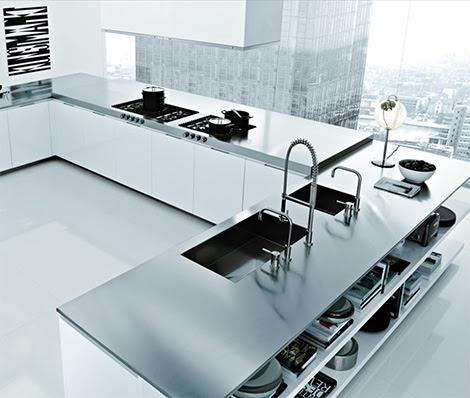 Italian Kitchen Design by Poliform - Matrix Varenna modern kitchens