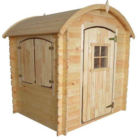 kinderspielhaus mit rundem dach fuer den garten spiel und