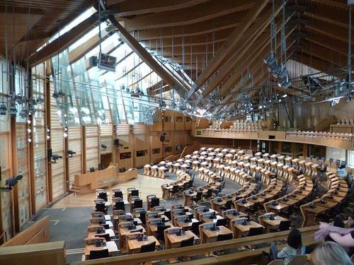 View across chamber