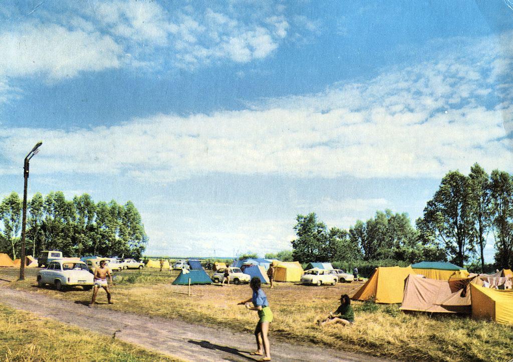 Mielno, pole namiotowe