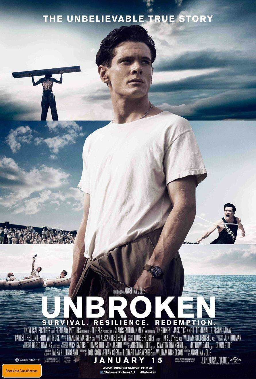 Extra Large Movie Poster Image for Unbroken