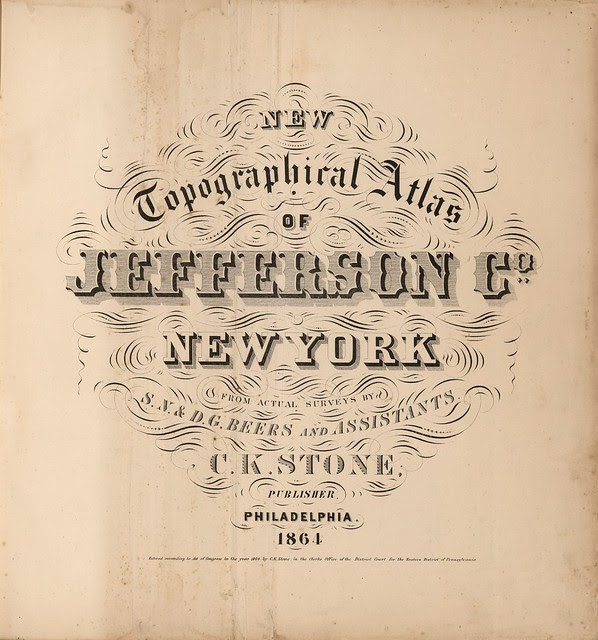sweet title fonts in old map books