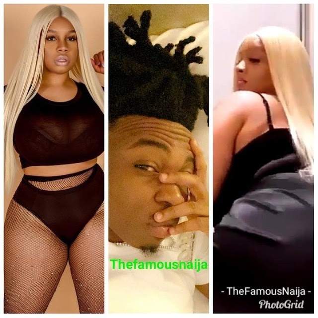 'She Has The Biggest Backside I've Seen'- Mayorkun Gushes Over His Curvy Friend (Video)