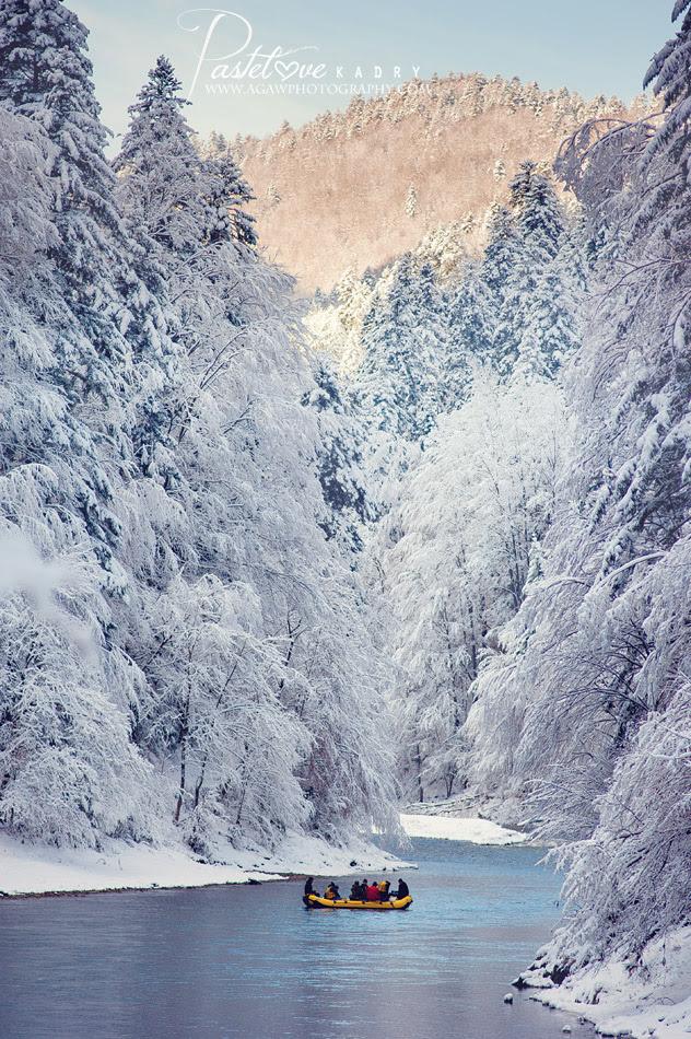 dunajec zima