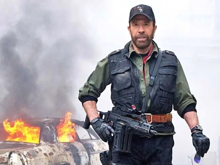 Chuck Norris wants to save the A-10 - Business Insider
