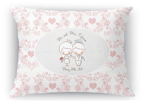 """Wedding People Rectangular Throw Pillow   18""""x24"""