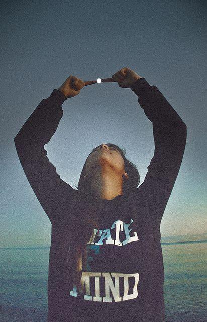 moon in my hands