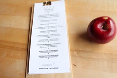 menu apple