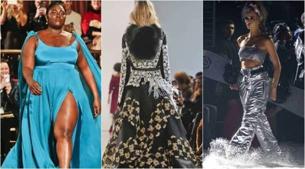 New York Fashion Week, New York Fashion Week plus-size models, New York Fashion Week Bibhu Mohapatra, New York Fashion Week Christan Siriano, Philipp Plein, #metoo survivors, indian express, indian express news