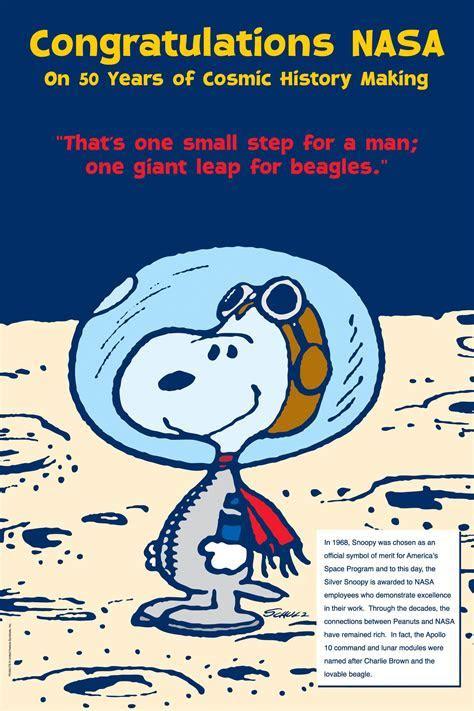 Snoopy Says 'Happy Anniversary'   NASA
