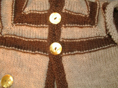 button detail with how pattern was written