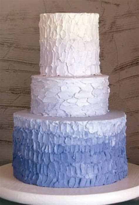Textured / Ombre Wedding Cake ? Wedding Cake Design