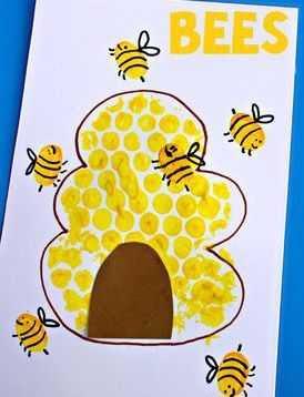 Arı Ve Arı Kovanı Sanat Etkinliği 20 Okul öncesi Etkinlik