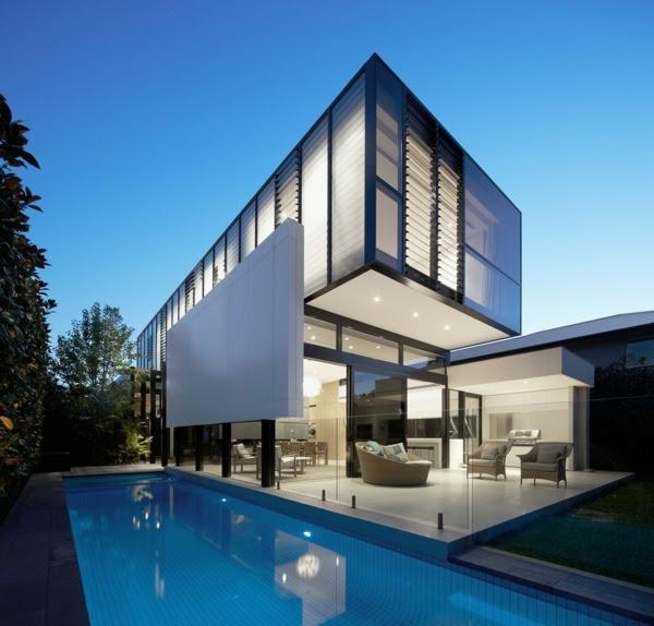 Modernes Einfamilienhaus mitten in der Gro\u00dfstadt