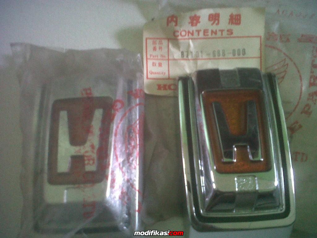 Baru OLDSKOOL HOONDA PARTS Honda Lifecivic 1st2nd3rd Gen And