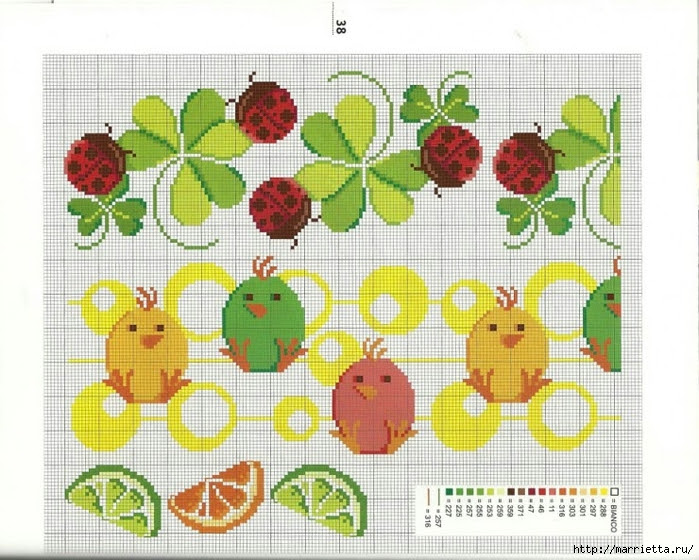 cross stitch diagrams for towels (4) (700x560, 311Kb)
