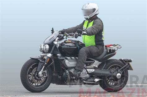 triumph rocket iii spotted  camouflage