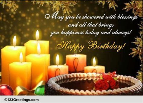 Blessings For A Happy Birthday! Free Birthday Blessings