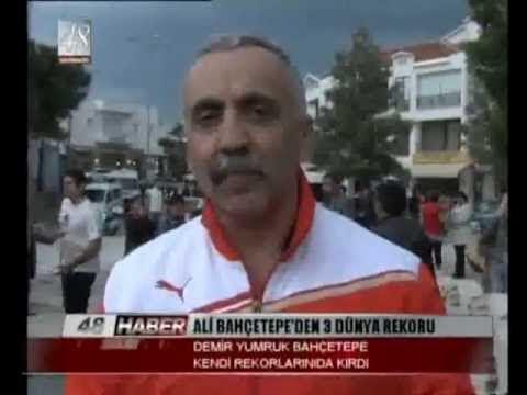 Datçalı Ali Bahçetepe üç Rekor Birden Kırdı ...  İzlemek için lütfen filime tıklayınız...