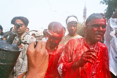 Ashura on the Streets of Nakhas Lucknow by firoze shakir photographerno1