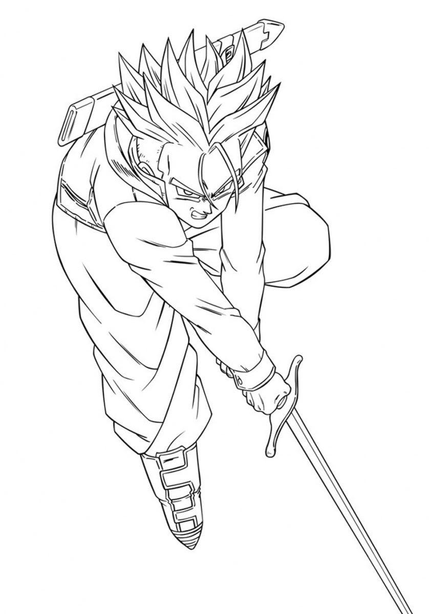 Melhor De Desenhos Para Colorir De Dragon Ball Melhores