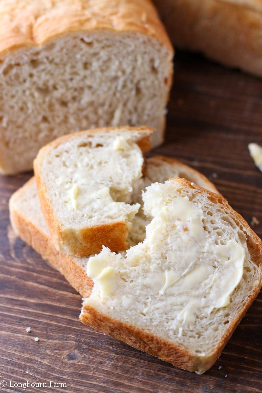 The Best Homemade Bread Recipe • Longbourn Farm