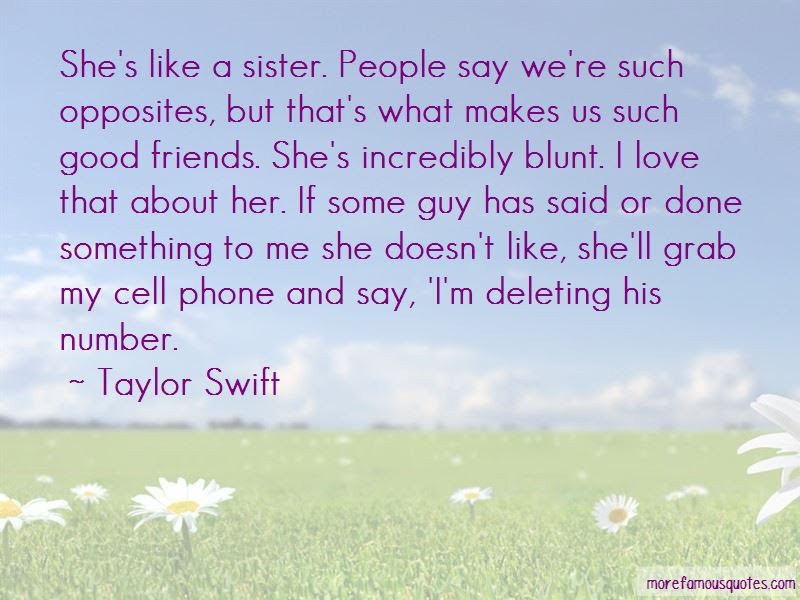 Shes Like A Sister Quotes Top 1 Quotes About Shes Like A Sister