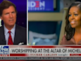 'Accept her dominion over you': Tucker Carlson rages at Michelle Obama in 'unhinged' Fox News rant