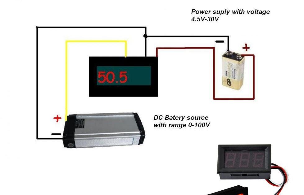 31 Digital Volt Amp Meter Wiring Diagram