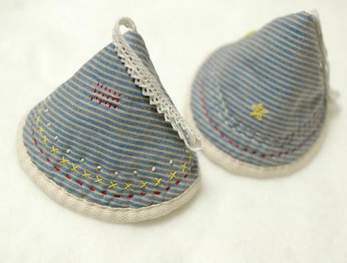 Fairy hat pot holder