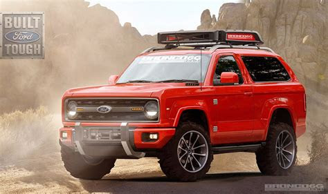 ford bronco renderings show  shape