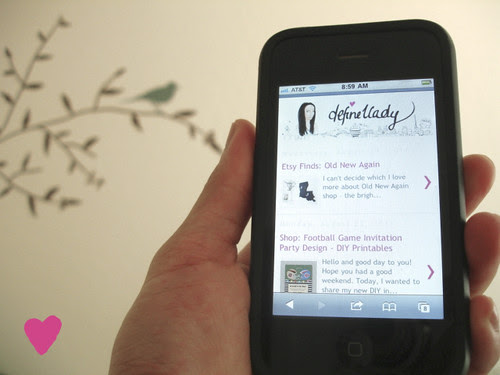 DeFine1Lady is now mobile-browser friendly.