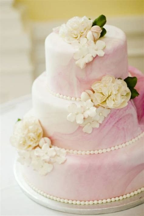32 Romantic Light Pink Wedding Cakes   Weddingomania