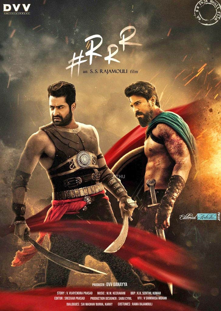 RRR First Look and Posters