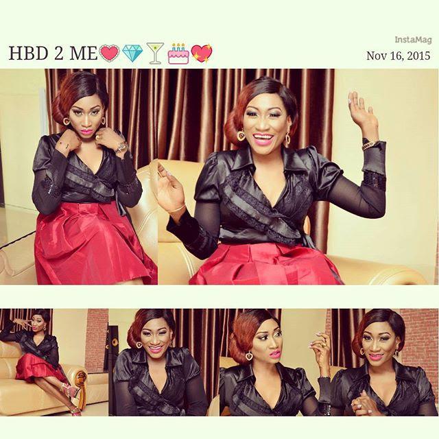 Oge Okoye Celebrates 34th Birthday With Glam Mini-Photoshoot