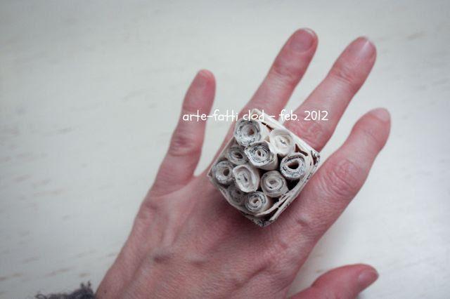 anello fai da te, tutorial, artefatti clod gioielli, guida al regalo fai da te