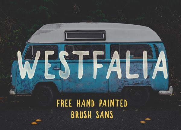 Westfalia gratuito Brush Fuente
