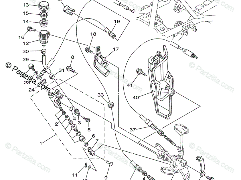 29 Yamaha Rhino 660 Parts Diagram