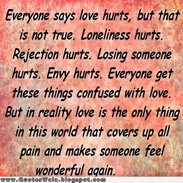 Everone Say Love Hurts Pictures Photos And Images For Facebook