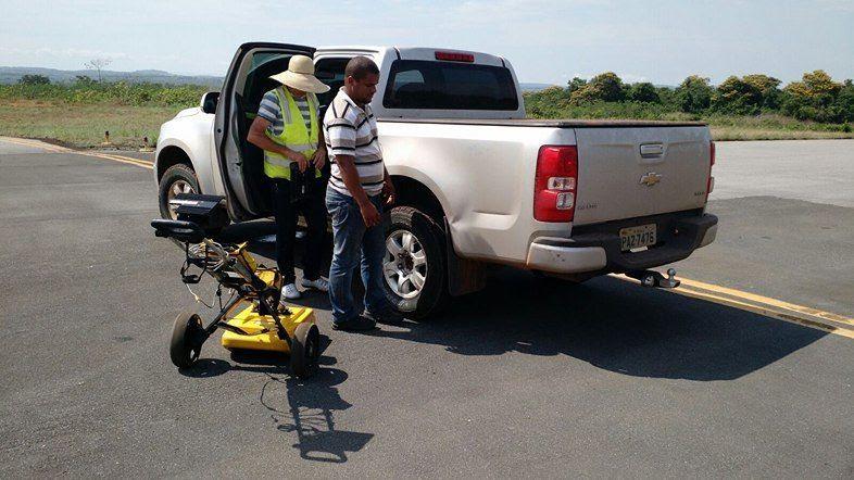 Empresa faz análise das pistas do aeroporto de Barra do Garças