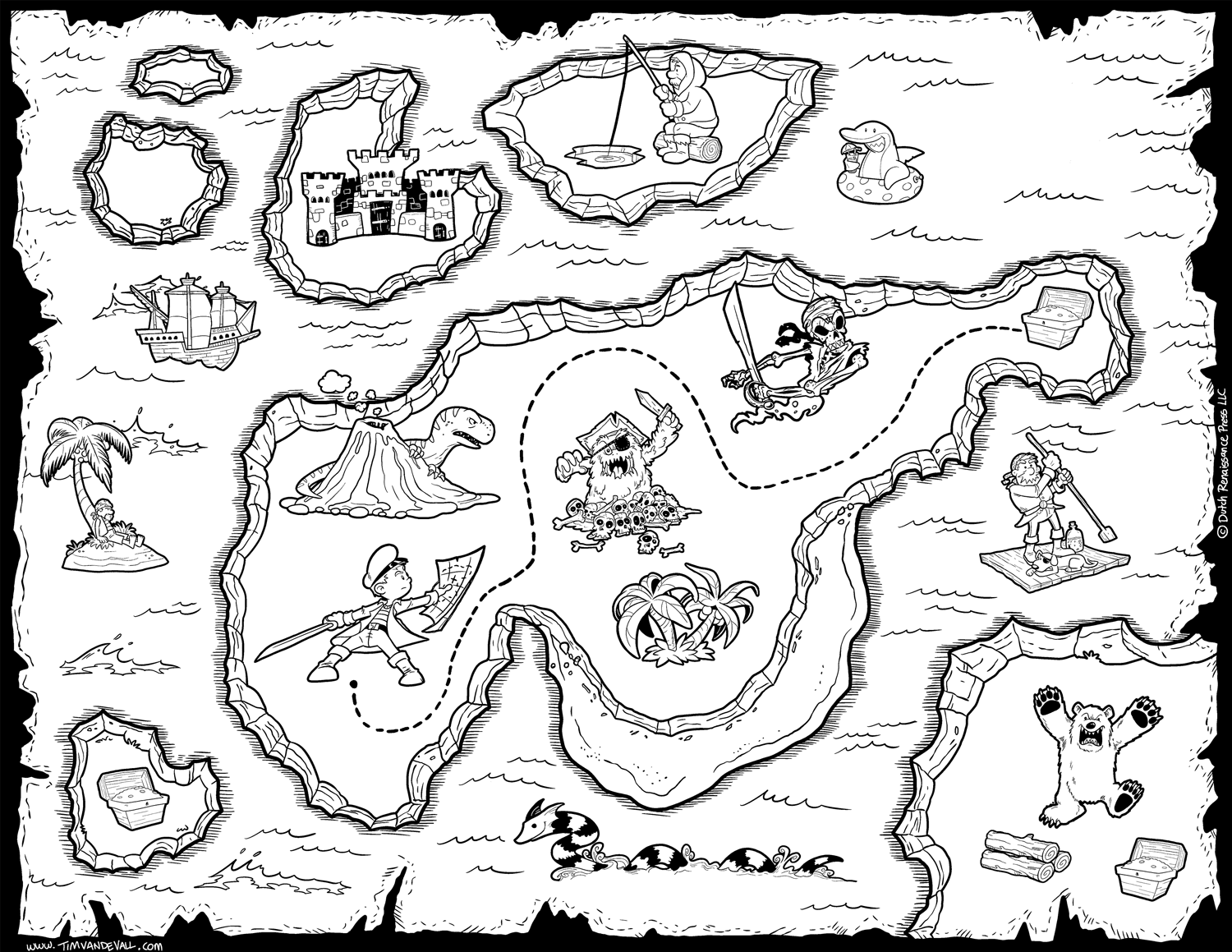 Image Result For Old Pirate Map