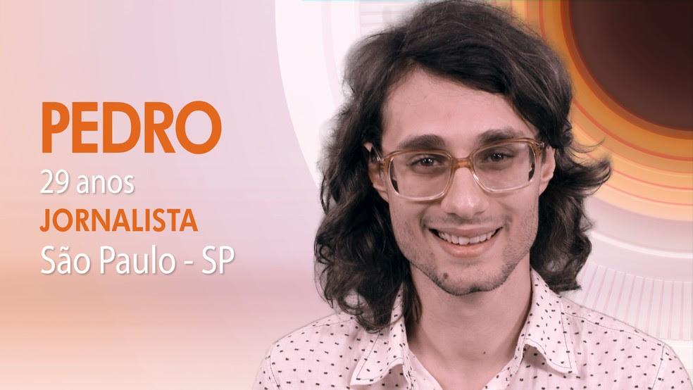 """Pedro, quarto participante do """"BBB17"""" (Foto: Globo/Divulgação)"""