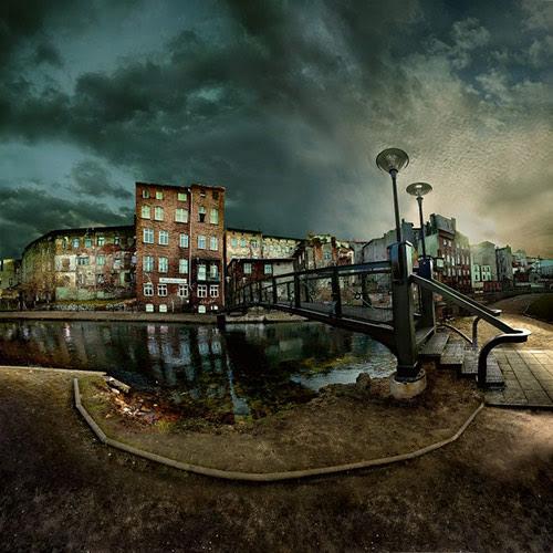wenecja the island windmiil in 22 Impressive Examples of Dark Photography