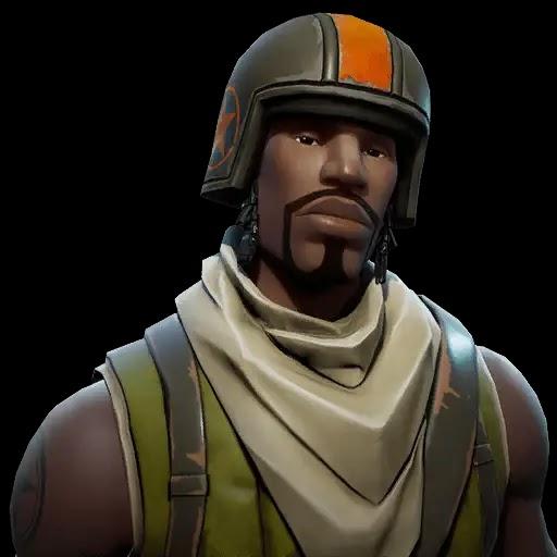 Renegade Raider Thumbnail: Fortnite Renegade Raider Transparent Background