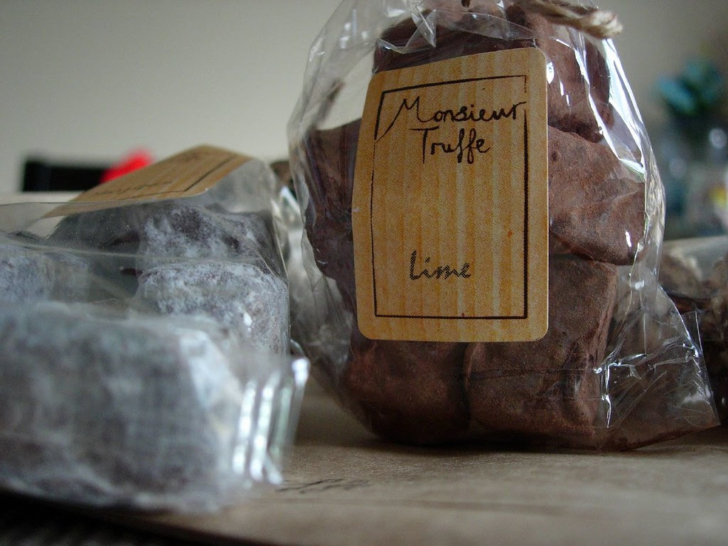 Monsieur Truffe chocolate truffles